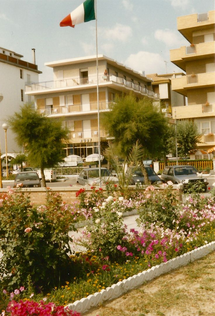 The old #HotelRudyCervia #front #view