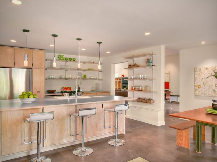 Open Kitchen Cabinets Are Easier To Handle12