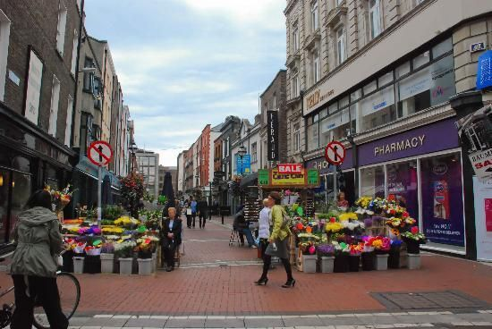 Grafton Street, Main shopping street in Dublin, lined with boutiques containing the creations of Ireland's trendy designers.