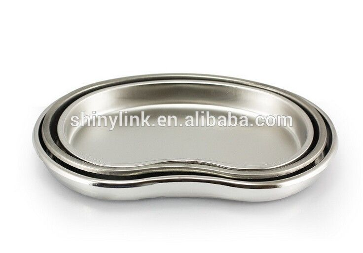 Kidney Tray Kidney Basin Kidney Dish stainless steel without cover