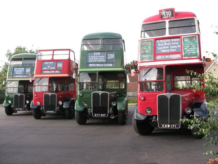 Alle Größen   Four London Transport RT-type buses, North Weald - August 2012   Flickr - Fotosharing!
