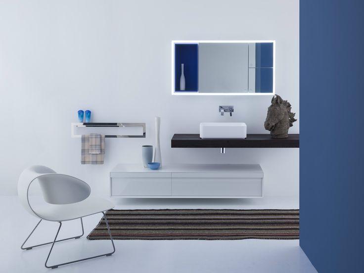 Specchio con contenitore JOY Collezione Joy by Arlex   design David Dolcini