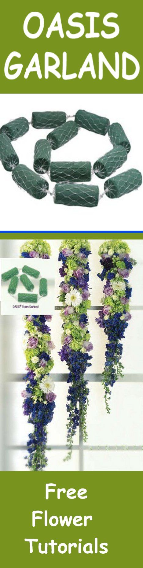 Quality Floral Supply - Buy Oasis foam products for bouquets, centerpieces, church wedding decor and more.  Free fresh flower tutorials.