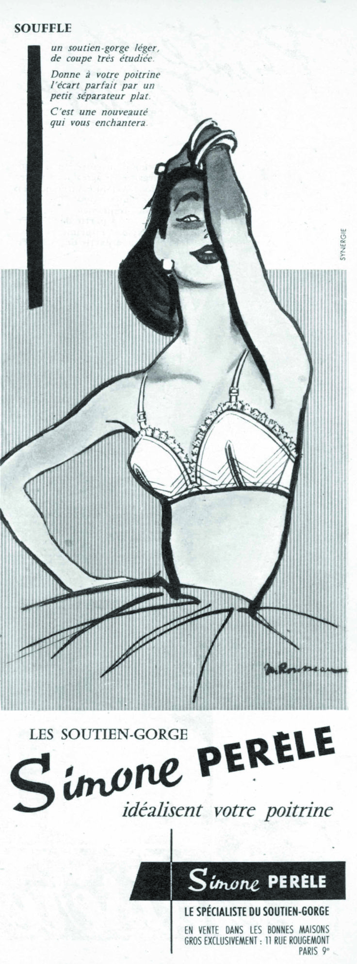 Lingerie Française - 1955