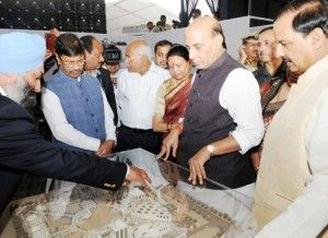 Latest India News Today : Rajnath Singh lays Foundation Stone of Pt. Deen Dayal Upadhyay Institute of Archaeology