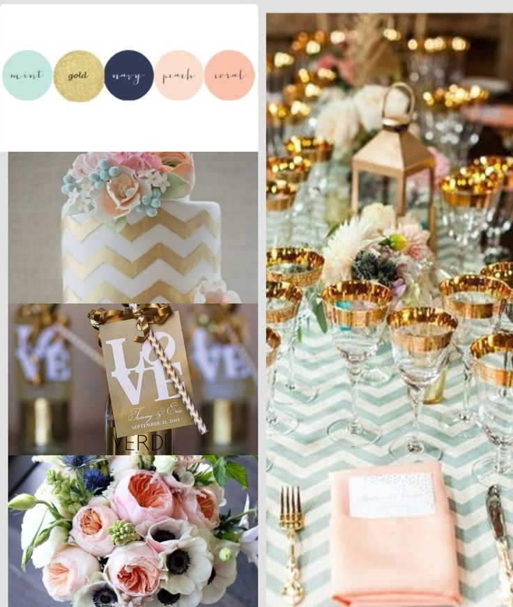 25+ Best Ideas About Blush Mint Wedding On Pinterest