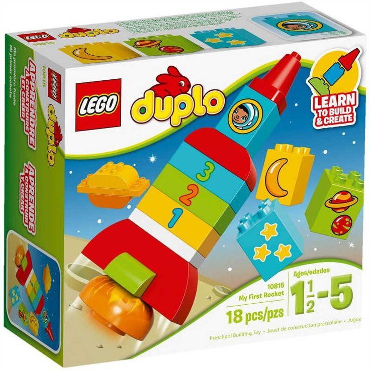 Il Lego Duplo 'Il mio primo Shuttle' Contiene 18 pezzi ed è pensato per per i bambini da 1 anno e mezzo ai 5 anni.