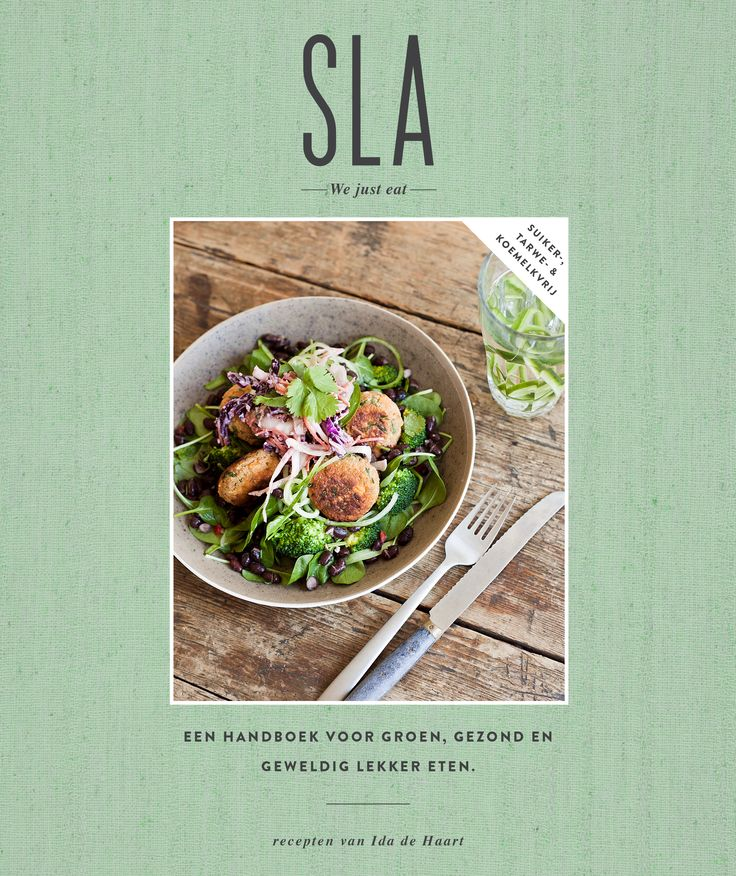 SLA Cookbook | www.ilovesla.com | Order now at Bol.com