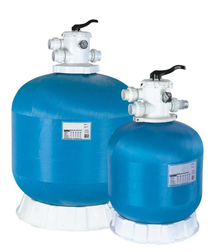 Pools Swimming Pool Sand Filters With Top Mounted Fiberglass Sand Filter For Swimming Pools With ClearPro Technology Replacing Swimming Pool Sand Filters