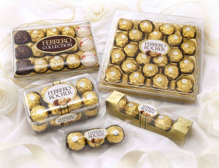 Ferrero Rocher dolgulu çikolataları için;  http://www.cikolataport.com/