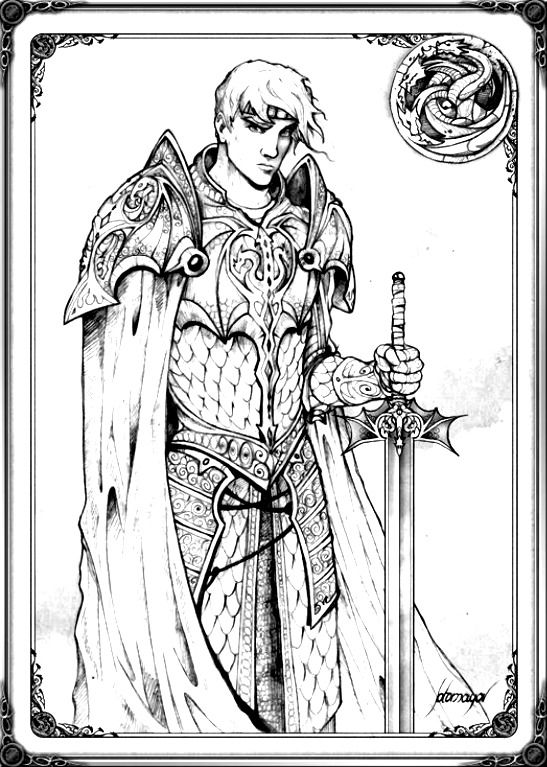 130 Best Coloriages Game Of Thrones Images On Pinterest Auto
