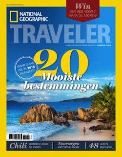 4x National Geographic Traveler € 14,95: Ga op reis met het tijdschrift National Geographic Traveler: neem nu een jaarabonnement, bespaar 37% en geniet van fascinerende reportages en schitterende fotografie.
