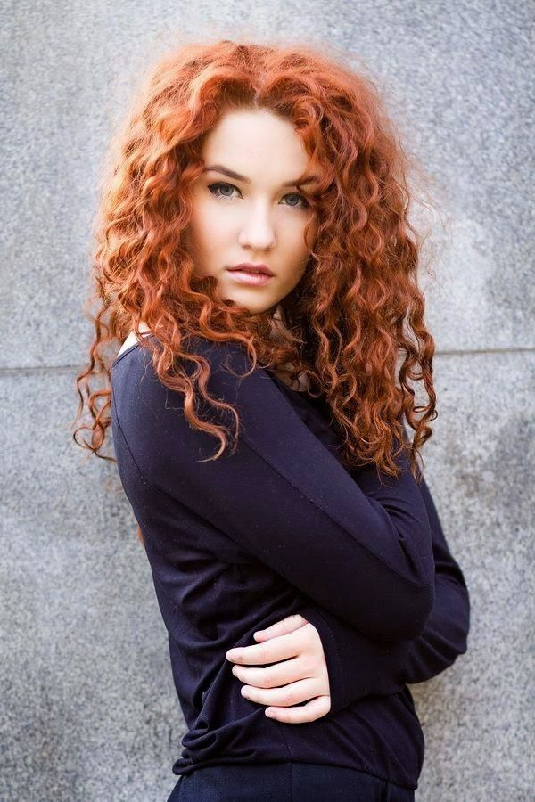 Red & Curly hairstyles!                                                                                                                                                                                 More