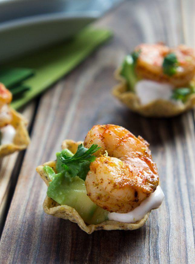 Shrimp Taco Bites. Mmmm!