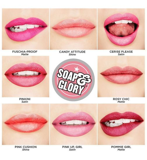 Soap and Glory™ Sexy Mother Pucker™ Pinks Collection Lipstick - Boots