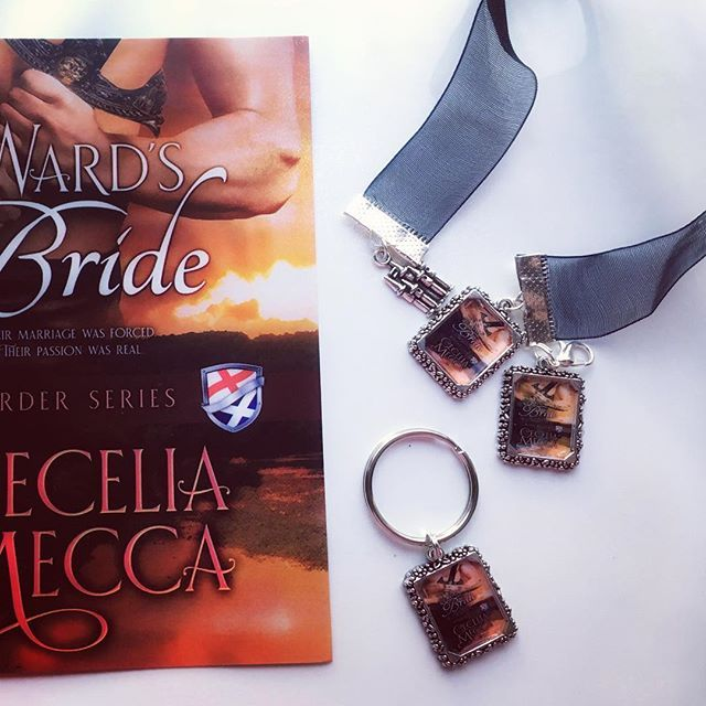 Got some new #TheWardsBride swag! Giving it away to Border Ambassadors. An IG exclusive #giveaway coming soon.