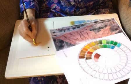 Palettes Palette Watercolor Mixing Watercolor Paper