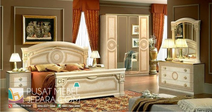 set-tempat-tidur-ukiran-mewah-ancient-roman