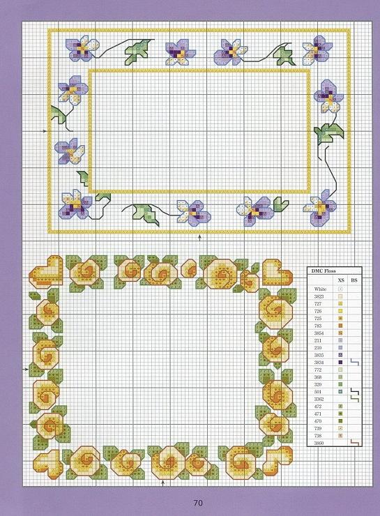 (1) Gallery.ru / Foto # 64 - Cross-Stitch Florals - credenza