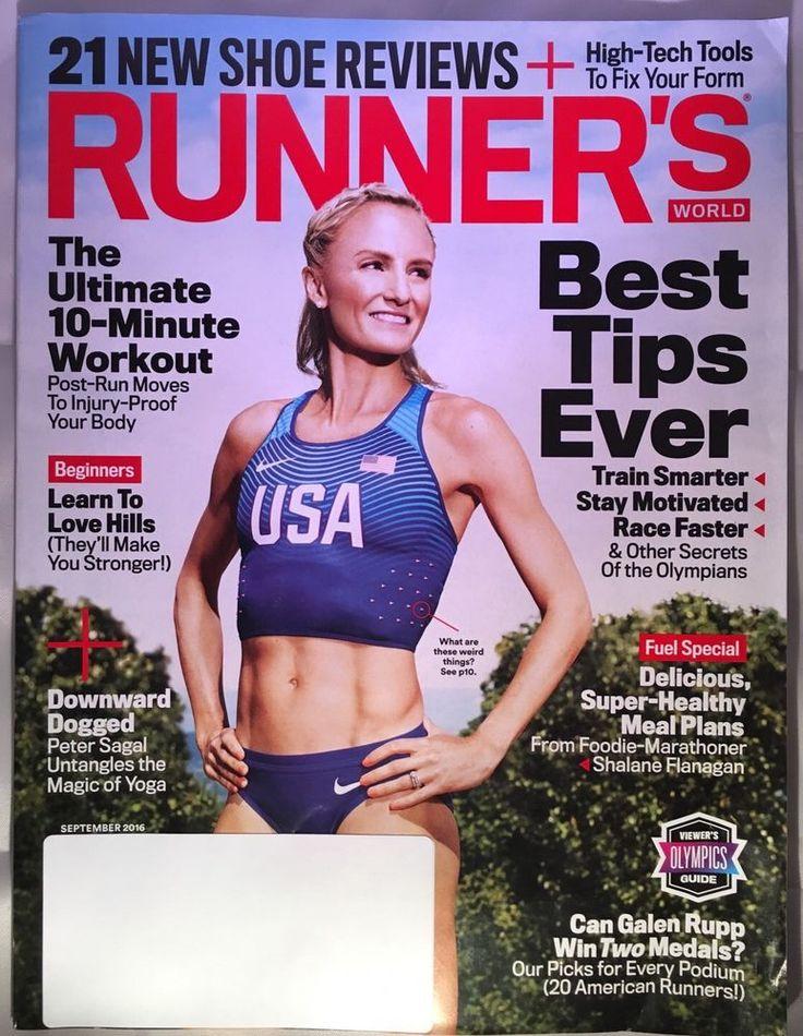 RUNNER'S WORLD RUNNERS MAGAZINE September 2016 Ultimate 10 Min Workout SHOES  | eBay