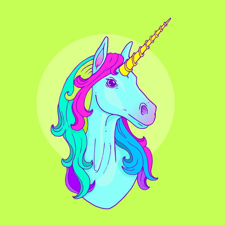 Unicornio Azul on Behance