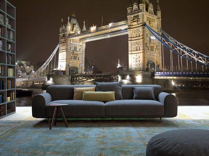 Londyn na fototapecie