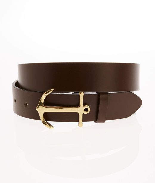 Leather Belts: Anchor Belt for Men - Vineyard Vines. I'll get the belt first,  then the yacht.