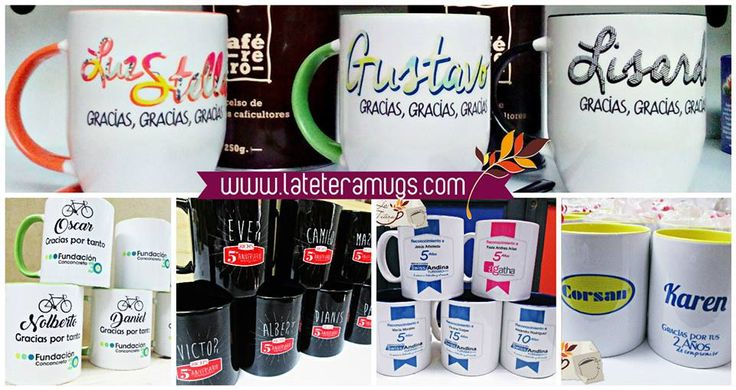 mugs corporativos www.lateteramugs.com #mugs #empresas #regalos #brand
