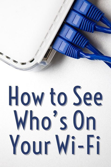 How to See Who's On Your Wi-Fi | Technology | Wifi, Tech