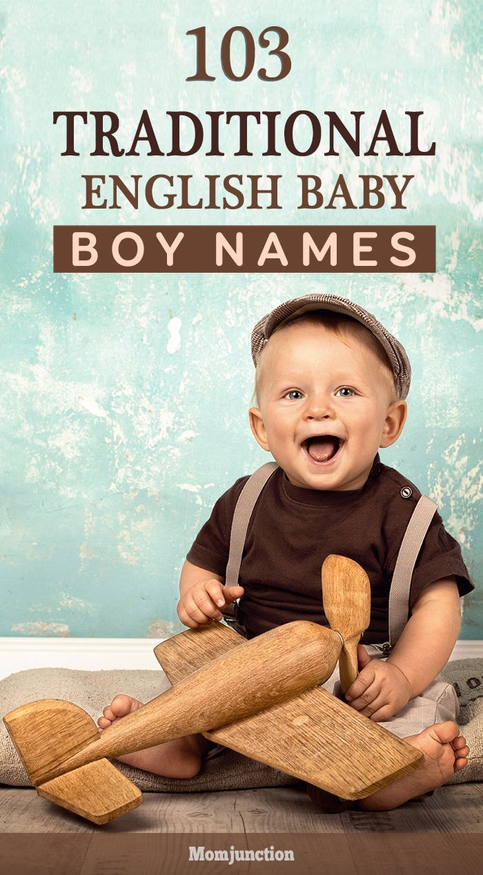Traditional names exude a charm and elegance that will always remain in style. So, if you are looking for some traditional English boy names, do read on!