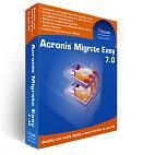 Acronis Migrate Easy 7  Acronis Migrate Easy 7 is a disk clone software which brings the operating system, all applications, settings, data and emails to a new hard drive and makes it bootable. for more info Visit here:- allacronis.com