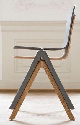 Stackable Chairs silla madera plegable