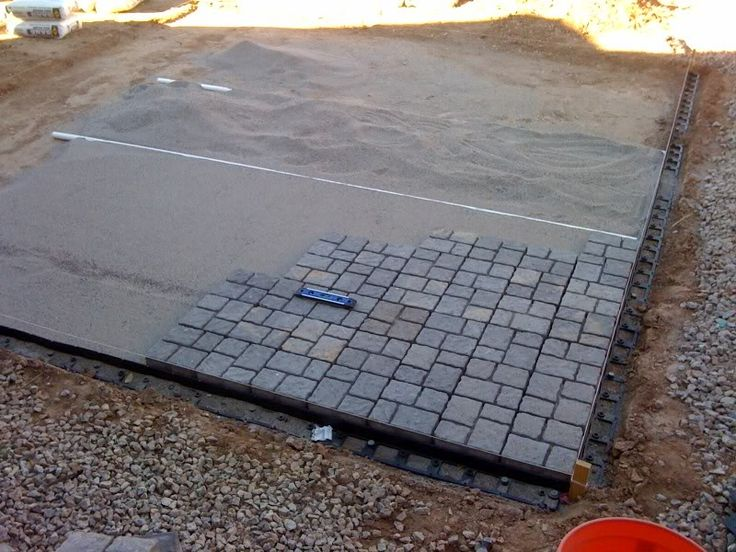 budget diy small patio | My DIY Paver Patio On The Cheap.... - Landscaping & Lawn Care - DIY ...