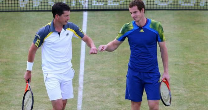 Tim Henman says Andy Murray should enjoy the process of being Wimbledon defending champion