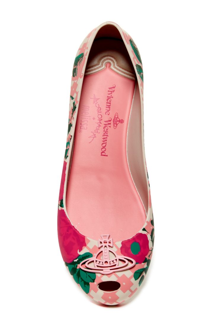 Anglomania + Melissa Ultra Girl Flat by Vivienne Westwood on @HauteLook