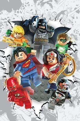 DC Comics lança capas alternativas em versão LEGO > Quadrinhos | Omelete