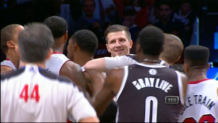 LeBron James Fouled & Laughed At by Mirza Teletovic