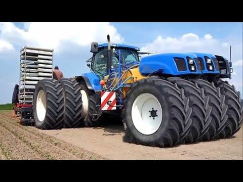 World Amazing Modern Agriculture Heavy Equipment Mega Machines CNC Technology Tractor Harvester - YouTube