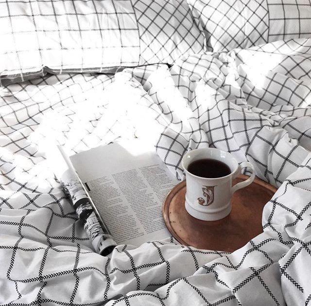 cozy in bed