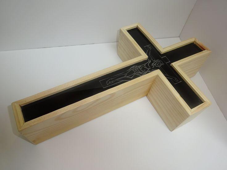 JG wooden box.
