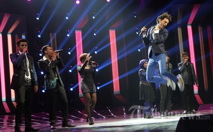Mika @ X Factor Indonesia - 10 May 2013