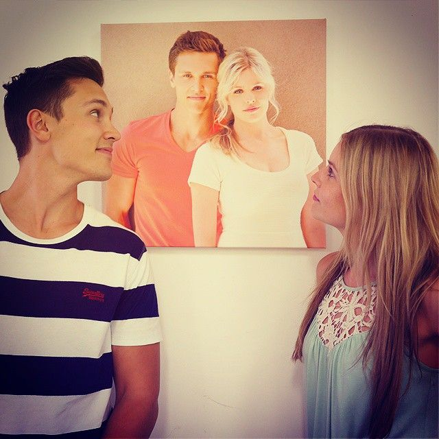@harleympbonner and @jennarosenow look back to the time Josh and Amber were together. Like for Jamber! #neighbours #neighbours30