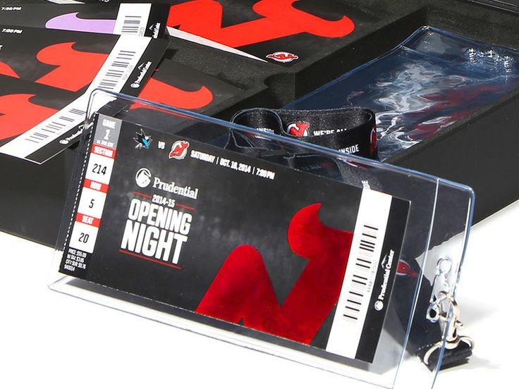 """Season Ticket Package for the New Jersey Devils 2015 Branding Campaign """"We're All Devils Inside"""""""