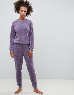 c0c507f53bcd0 Shop ASOS DESIGN Lounge super soft sweat and jogger twosie at ASOS.  Discover fashion online