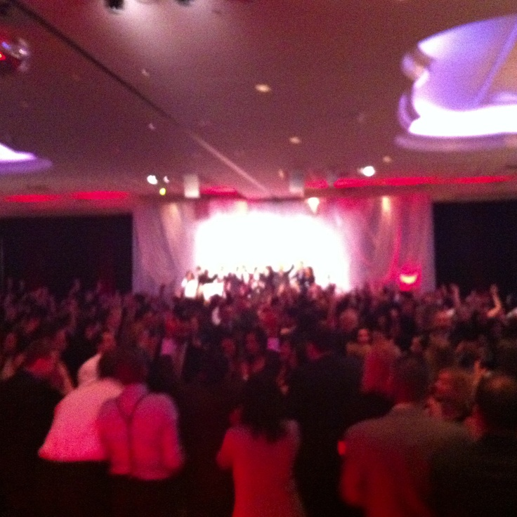 This was a corporate event in Mississauga, DJ Services by http://www.ScotiaEntertainment.com