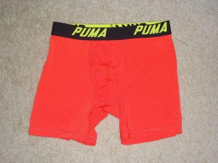 Puma Tech Performance Men's Boxer Briefs Underwear Sz S Polyester Spandex NEW  #PUMA #BoxerBrief