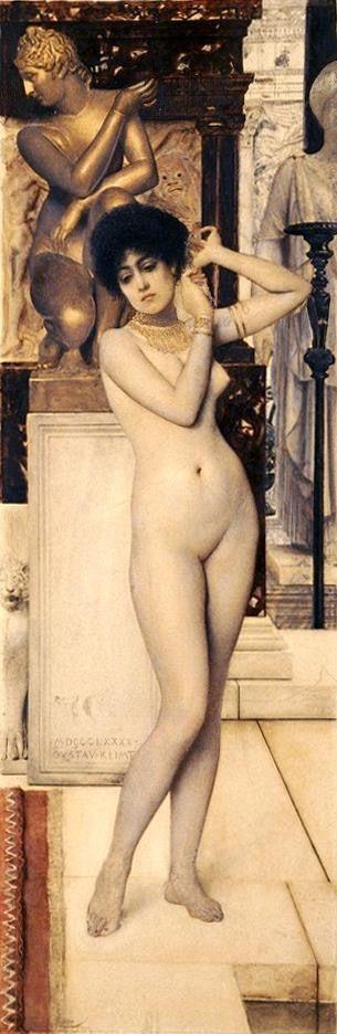 Klimt - Allegorie de la sculpture 1890