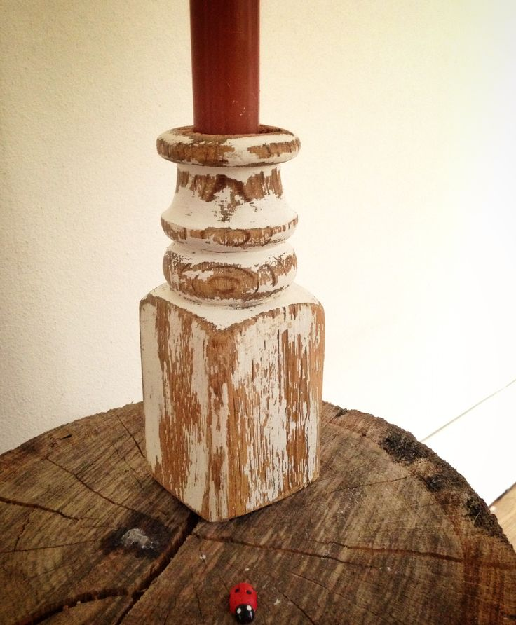 Part of a leg of old chair, design and hand made by David Juárez Ollé