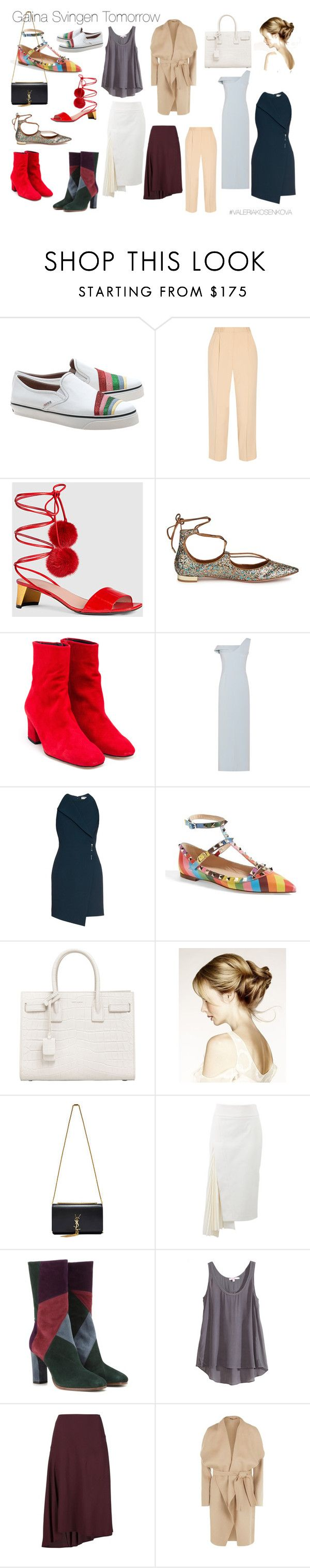 GS Tomorrow by m-elle-v on Polyvore featuring мода, Balenciaga, Calypso St. Barth, BOSS Hugo Boss, Marni, Brunello Cucinelli, The Row, Etro, Valentino and Gucci