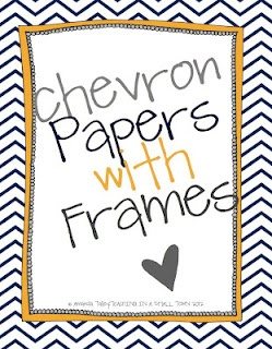 Chevron papers that already have frames so you can quickly and easily make unit covers, coupons, posters, binder covers, etc.: Chevron Frames, Small Town, Chevron Classroom Ideas, Frames Paper, Chevron Printable, Chevron Paper, Diy Coupon Binder Covers, Coupon Binder Printable, Printable Frames And Border